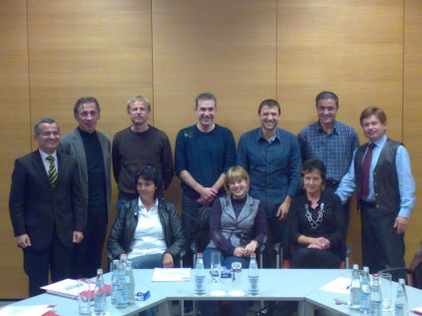 I partecipanti al corso con Franz Zuckerstätter
