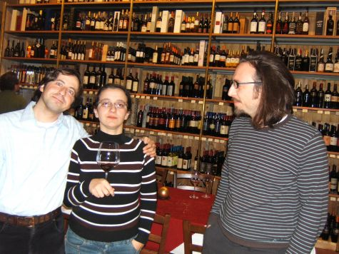 Consalvo Cattuto, Eugenia Franzoni e Giorgio Loner