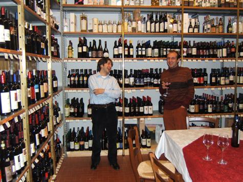 Informatici gioiosi (Consalvo Cattuto e Roberto Palmarin) tra i vini
