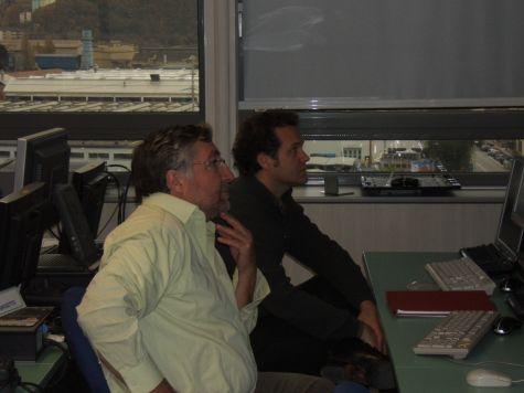 Werner Theil e Mario Orlandi, che coppia!