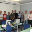 I partecipanti con il docente del Corso Bartolomeo Mastromarco ... serissimo ...