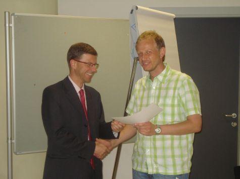Rainer Steger e Andreas Epp di S. Martino in Passiria