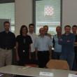 Alcuni partecipanti con il docente Lorenzo Muttoni