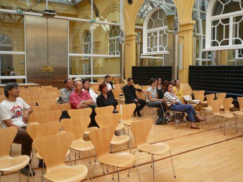 I partecipanti in un momento della cerimonia