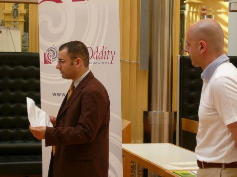 Christoph Pichler della Provincia Autonoma di Bolzano e Federico Pitone di Red Oddity