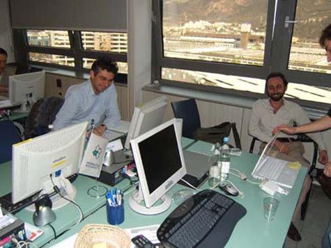 Alfredo Iellici e Roberto Scano