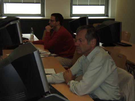 Hugo Leiter, Responsabile del Centro Elaborazione Dati del Consorzio dei Comuni della Provincia di Bolzano