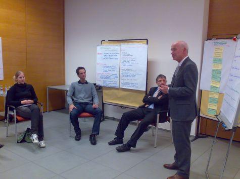 Eduard Enrich ringrazia i partecipanti