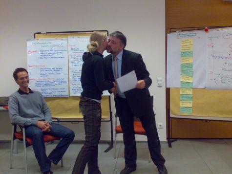 Simone Ortler, di Prato allo Stelvio, con Luciano Fiori
