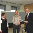 Franz Zuckerstätter, Andreas Josef Nigg e Manfred Huber