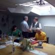 Alois Frank riceve i complimenti di Franz Zuckerstätter
