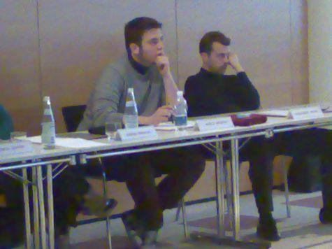 Marco Maria Diodato (però...) e Alessandro Negrin