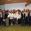 Foto di gruppo: i partecipanti con la direzione della Banca, i docenti ed i coordinatori di Red Oddity