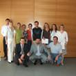 I partecipanti con i docenti Ingrid Kunkel, Karlheinz Österreicher, Luciano Fiori ed il coordinatore del Corso Lukas Kiesswetter