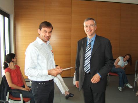Hubert Paller e Manfred Huber
