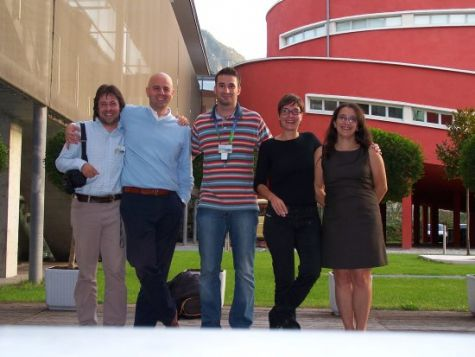 Foto di gruppo. Finalmente il convegno è finito...