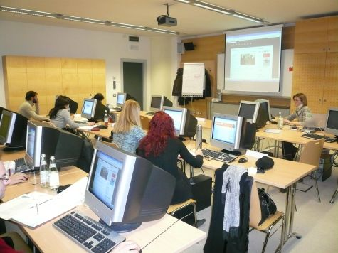 I partecipanti e la docente Antonella Beccaria