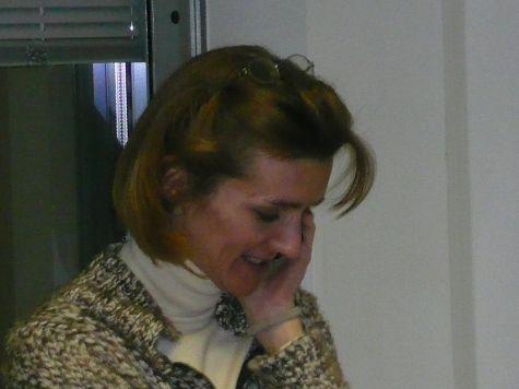 Antonella Beccaria, terminato il corso, si accontenta di uno strumento di comunicazione più semplice...