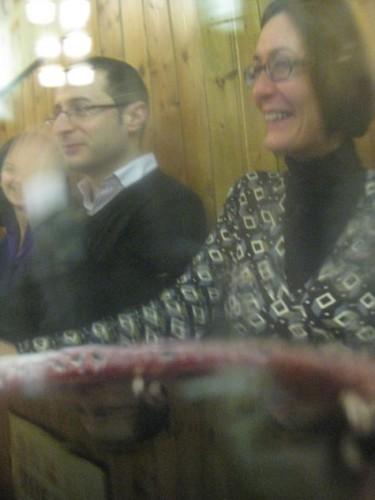 Giuseppe Franco e Francesca Beordo... sotto vino...