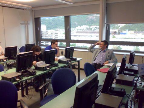 Alfredo Iellici con i colleghi di Altea Software Srl