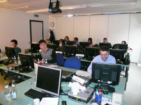 I partecipanti al termine del corso